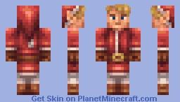 Santa Link Minecraft Skin