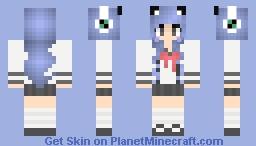 Anime girl kitty