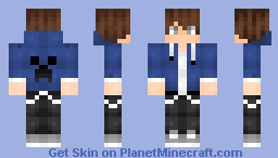 ღemilyღ I TRIED MAKING A MALE SKIN OKAY? ;~; Minecraft Skin