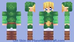 Toon Link (Classic Link in Desc.) Minecraft