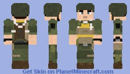 101st Airborne Trooper Minecraft Skin