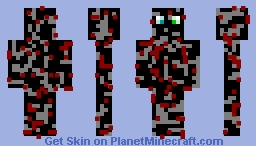 Charcoal Monster Minecraft Skin