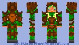 Elven Reindeer Man Minecraft Skin