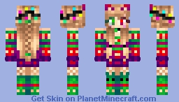 Christmas Inspired ❤ Minecraft Skin