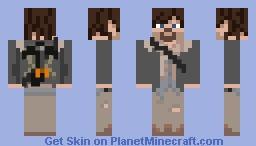 1.8 Skin - Daryl Minecraft Skin