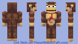 Donkey Kong Minecraft Skin