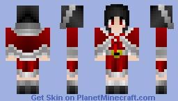 Cristmas Girl #4 Minecraft Skin