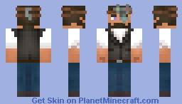 Steampunk steve Minecraft Skin