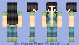 -Đıana- Illumi Zoldyck -Hunter X Hunter (Looks a bit better in Description) Minecraft Skin