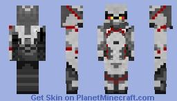 killzone helghast solider Minecraft Skin