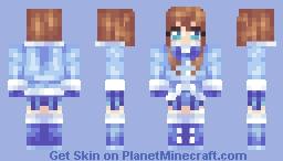 Little Winter Girl - Merry Christmas! Minecraft Skin