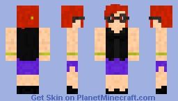 Elite 4 Lorelei Minecraft Skin