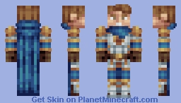 Jaice - Royal Paladin Minecraft Skin