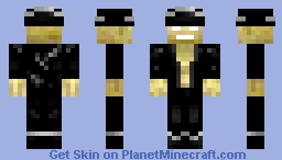 Ghastly Sailor Minecraft Skin