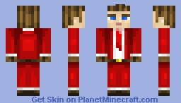 "Santa ""Suit"" - Merry Christmas! Minecraft Skin"