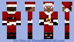 Santa Steve (Use On Addicted3Gamers Server) Minecraft Skin