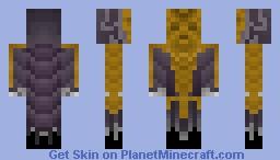 Dragon Priest 'Krosis Minecraft Skin