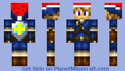 epic link christmas hat blue