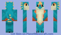 Stormfly (from HTTYD II) Minecraft Skin