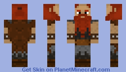 Stoick the Vast (From HTTYD) (Without helmet) Minecraft Skin