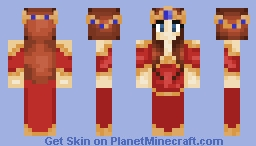 First skin: Queen Aliena Minecraft