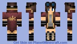 Steampunk Girl ✌ Minecraft