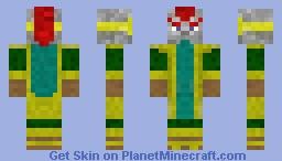 Dragon Ball Z - Tapion Minecraft Skin