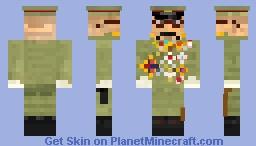 Tojo Hideki 東条 英機 Minecraft Skin