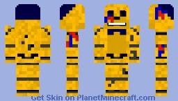Images of Minecraft Golden Freddy Skin - #rock-cafe