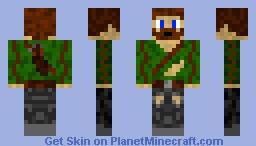 Adventure Steve Minecraft Skin