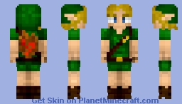 ~Young Link - Legend of Zelda~ Minecraft Skin