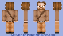 Guy On A Buffalo Minecraft Skin