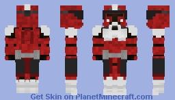 Coruscant/Shock Trooper [Commander Fox] Minecraft Skin