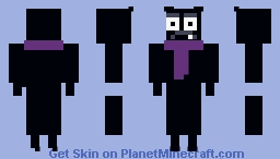 Scaredy Bat Minecraft Skin