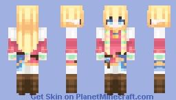 Skyward Sword || Princess Zelda Minecraft Skin