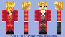 100 Sub Celebration - Edward Elric - Full Metal Alchemist: Brotherhood Minecraft Skin
