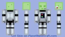 The Slime-o-Tron 2000 Minecraft Skin
