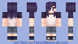 ❝Hanzō Urushihara❞ || «The Devil is a Part-timer» Minecraft Skin