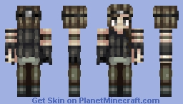 OC - Axel (75th skin and 400 subs!! :DD) Minecraft Skin