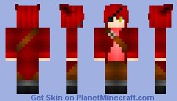 Fnaf Foxy Human Minecraft Skin