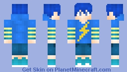 My OC Zeon Minecraft Skin