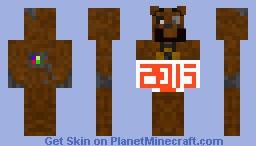 2015 FREDDY Minecraft Skin