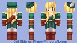✿๑ ▪ Fєℓiηкa ▪ ๑✿ ~ Archer. Minecraft Skin