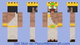 Mymphis! (God) Minecraft Skin