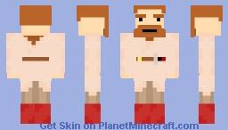 Obi Wan Kenobi From Star Wars Episode 3! Minecraft Skin