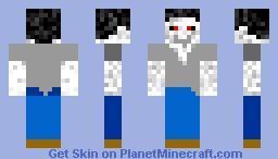 Evil Steve Minecraft Skin
