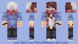 Hipster Guy Minecraft Skin