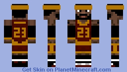 Lebron James Minecraft Skin