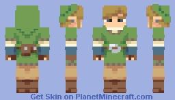 The goddess' chosen hero. Minecraft Skin