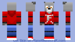 Lupus The Parkour Wolf Minecraft Skin